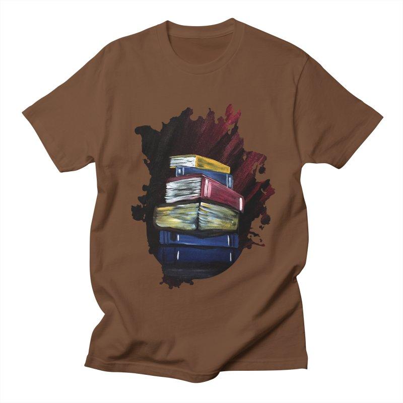 Books Of Knowledge Men's T-Shirt by adamzworld's Artist Shop