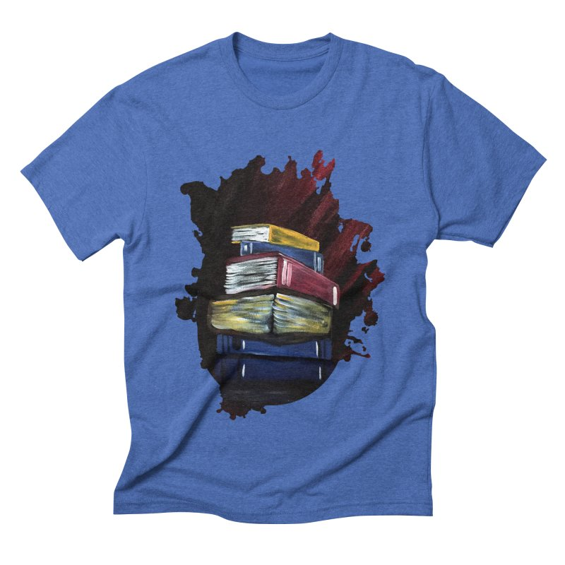 Books Of Knowledge Men's Triblend T-shirt by adamzworld's Artist Shop