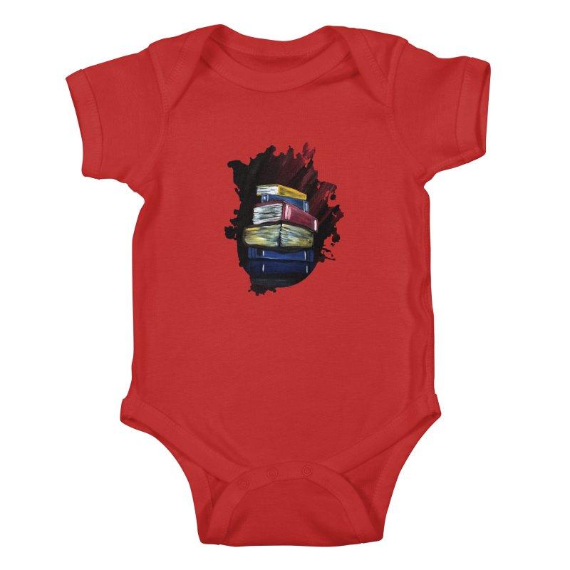 Books Of Knowledge Kids Baby Bodysuit by adamzworld's Artist Shop