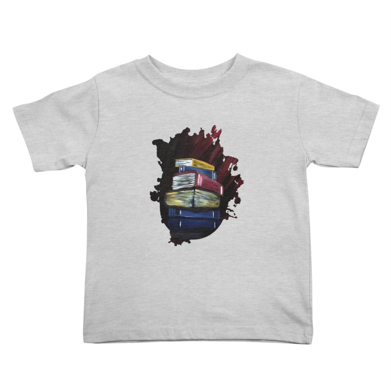 Books Of Knowledge Kids Toddler T-Shirt by adamzworld's Artist Shop