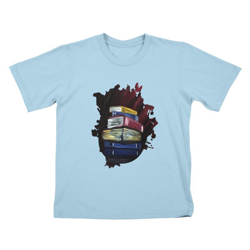 Books Of Knowledge Kids T-Shirt by adamzworld's Artist Shop