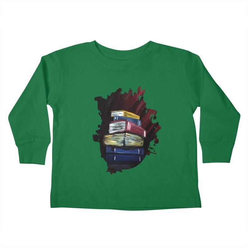 Books Of Knowledge Kids Toddler Longsleeve T-Shirt by adamzworld's Artist Shop
