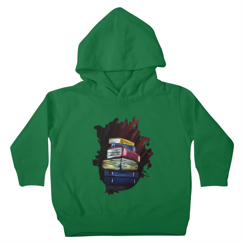 Books Of Knowledge Kids Toddler Pullover Hoody by adamzworld's Artist Shop