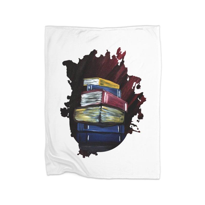 Books Of Knowledge Home Blanket by adamzworld's Artist Shop