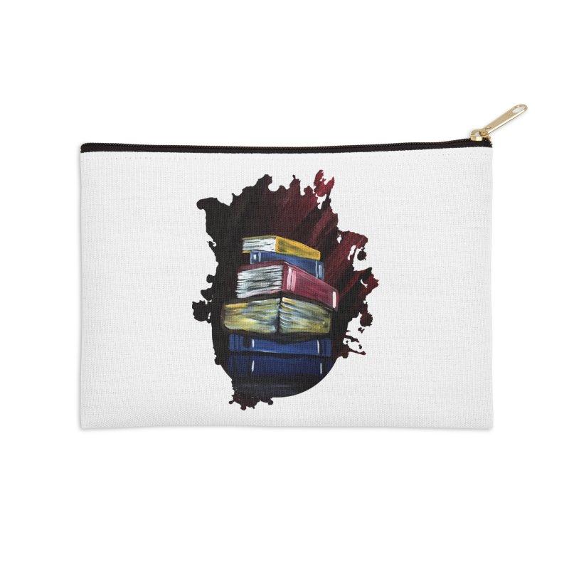 Books Of Knowledge Accessories Zip Pouch by adamzworld's Artist Shop
