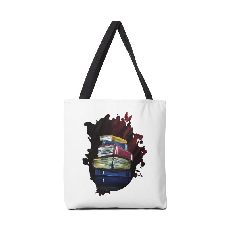 Books Of Knowledge Accessories Bag by adamzworld's Artist Shop