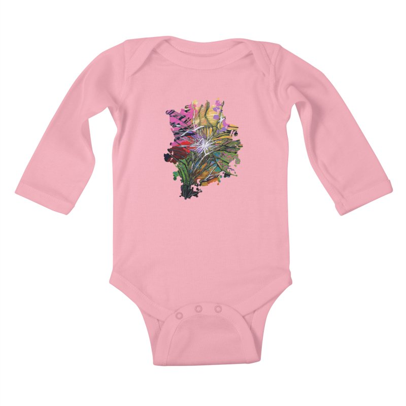 Shattered Dream Kids Baby Longsleeve Bodysuit by adamzworld's Artist Shop