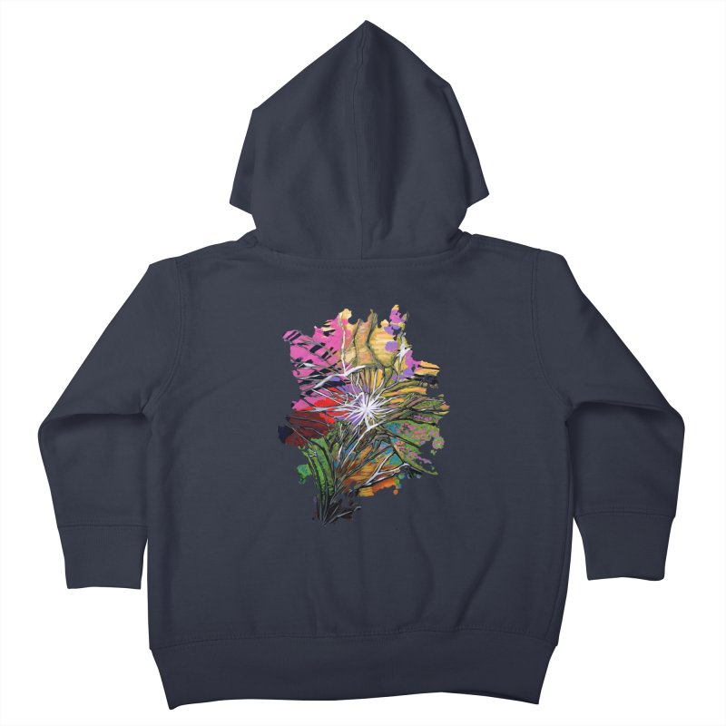 Shattered Dream Kids Toddler Zip-Up Hoody by adamzworld's Artist Shop