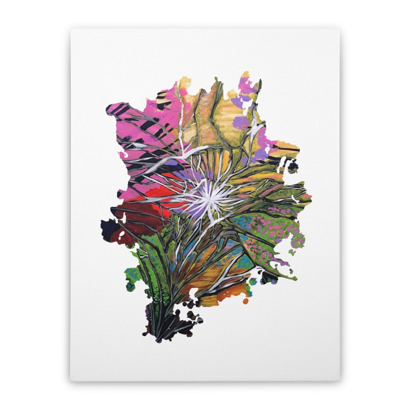 Shattered Dream Home Stretched Canvas by adamzworld's Artist Shop