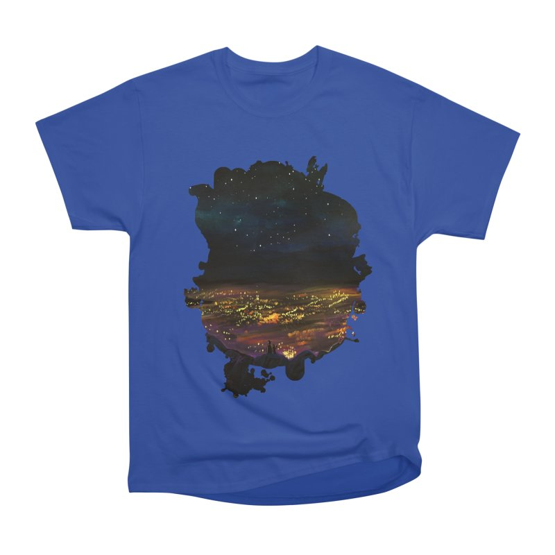 On The Edge Men's Classic T-Shirt by adamzworld's Artist Shop