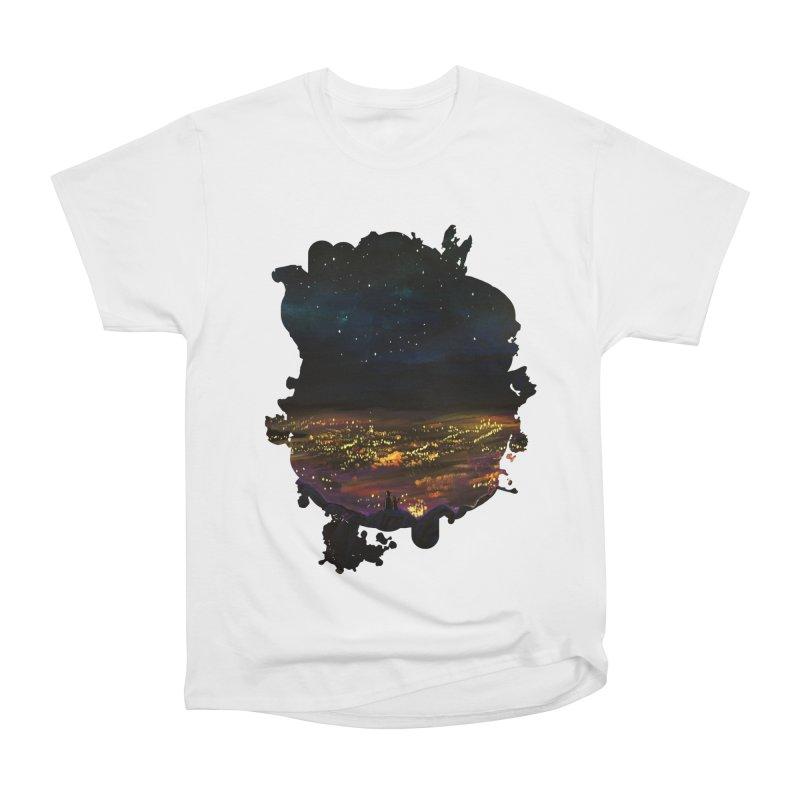 On The Edge Women's Classic Unisex T-Shirt by adamzworld's Artist Shop