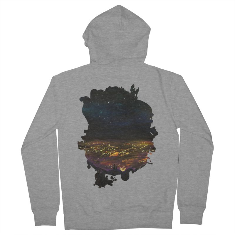 On The Edge Women's Zip-Up Hoody by adamzworld's Artist Shop