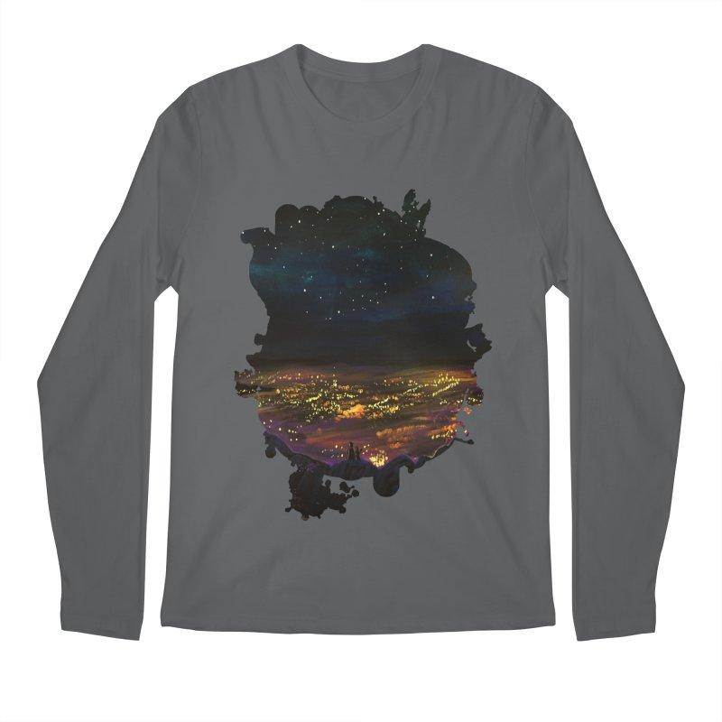 On The Edge Men's Longsleeve T-Shirt by adamzworld's Artist Shop