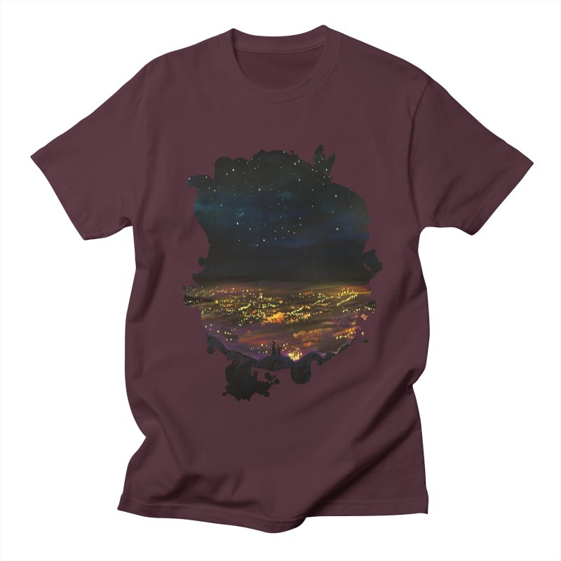 On The Edge Men's T-Shirt by adamzworld's Artist Shop