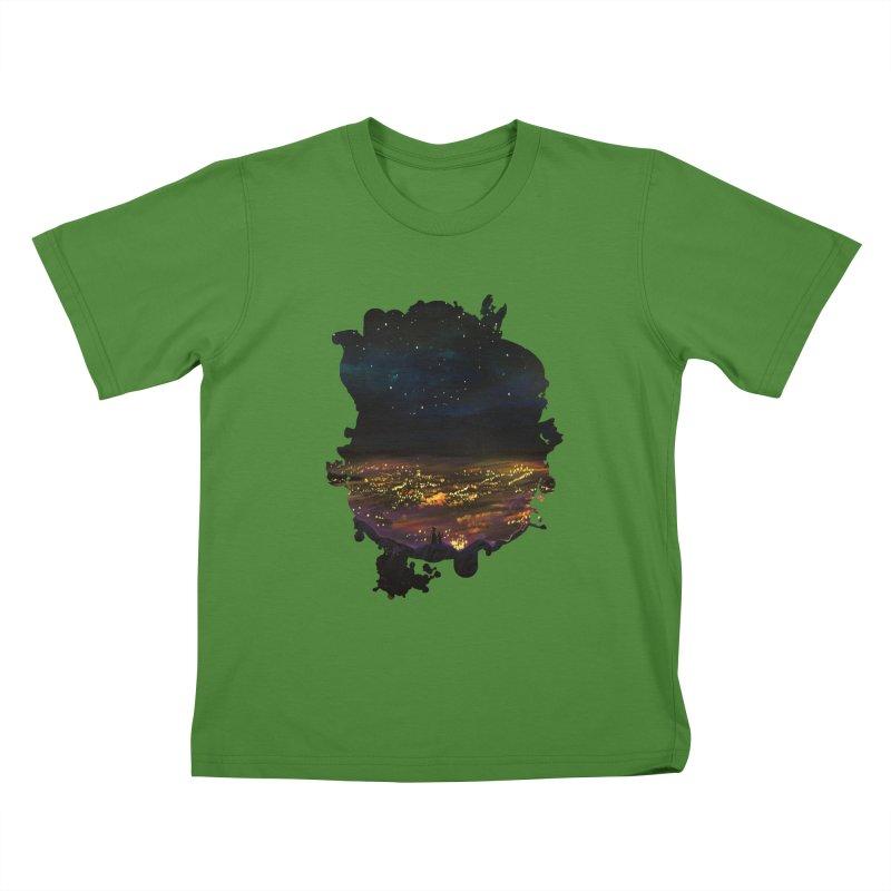 On The Edge Kids T-Shirt by adamzworld's Artist Shop