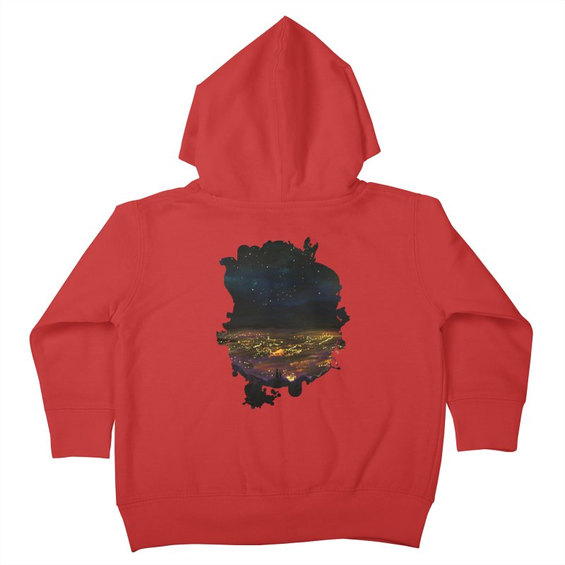 On The Edge Kids Toddler Zip-Up Hoody by adamzworld's Artist Shop