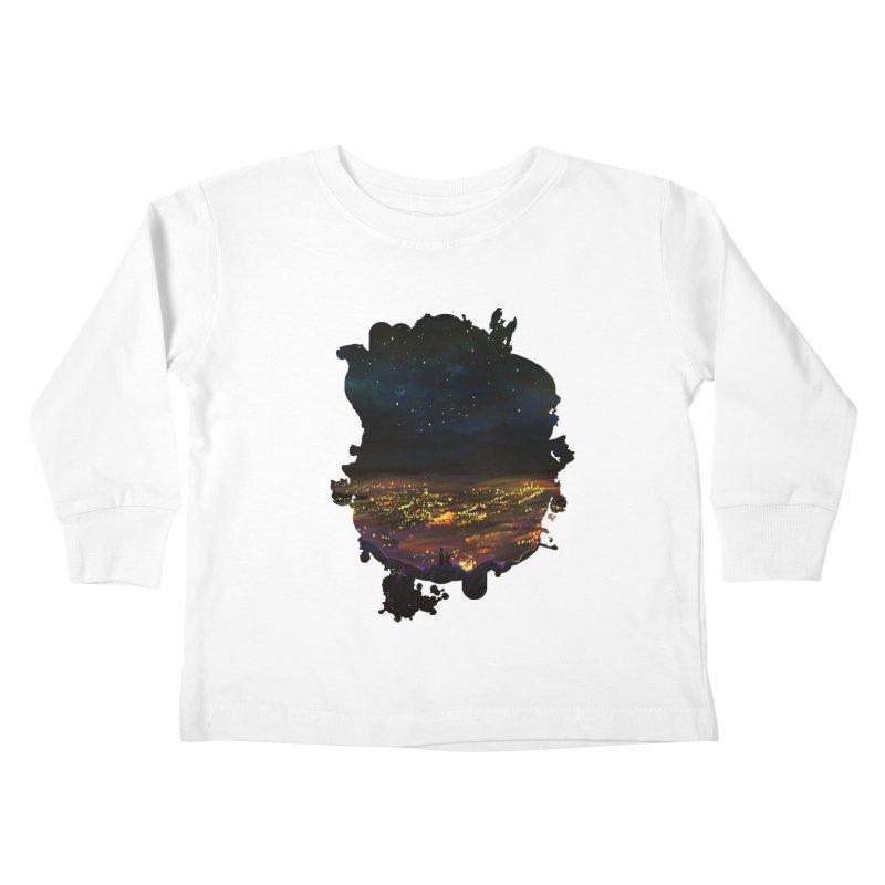 On The Edge Kids Toddler Longsleeve T-Shirt by adamzworld's Artist Shop