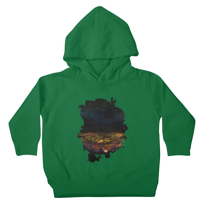 On The Edge Kids Toddler Pullover Hoody by adamzworld's Artist Shop