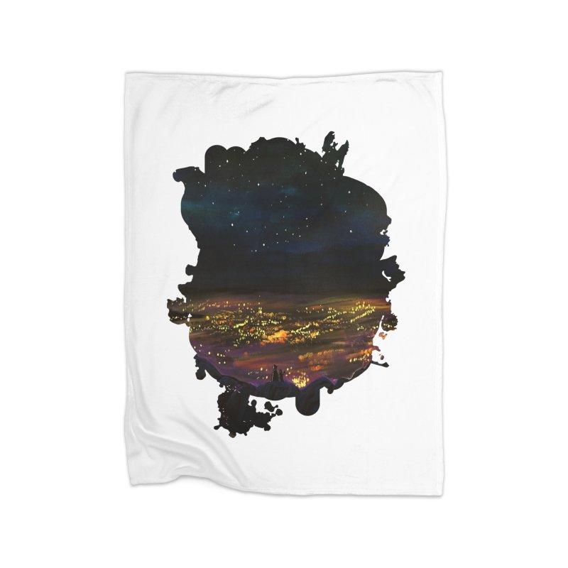 On The Edge Home Blanket by adamzworld's Artist Shop