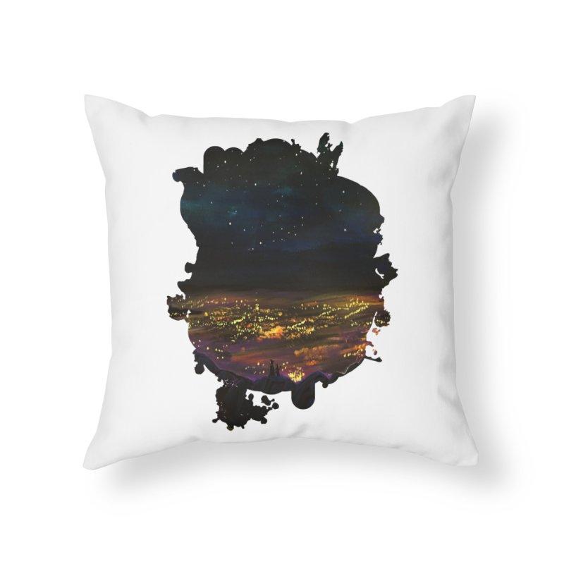On The Edge Home Throw Pillow by adamzworld's Artist Shop