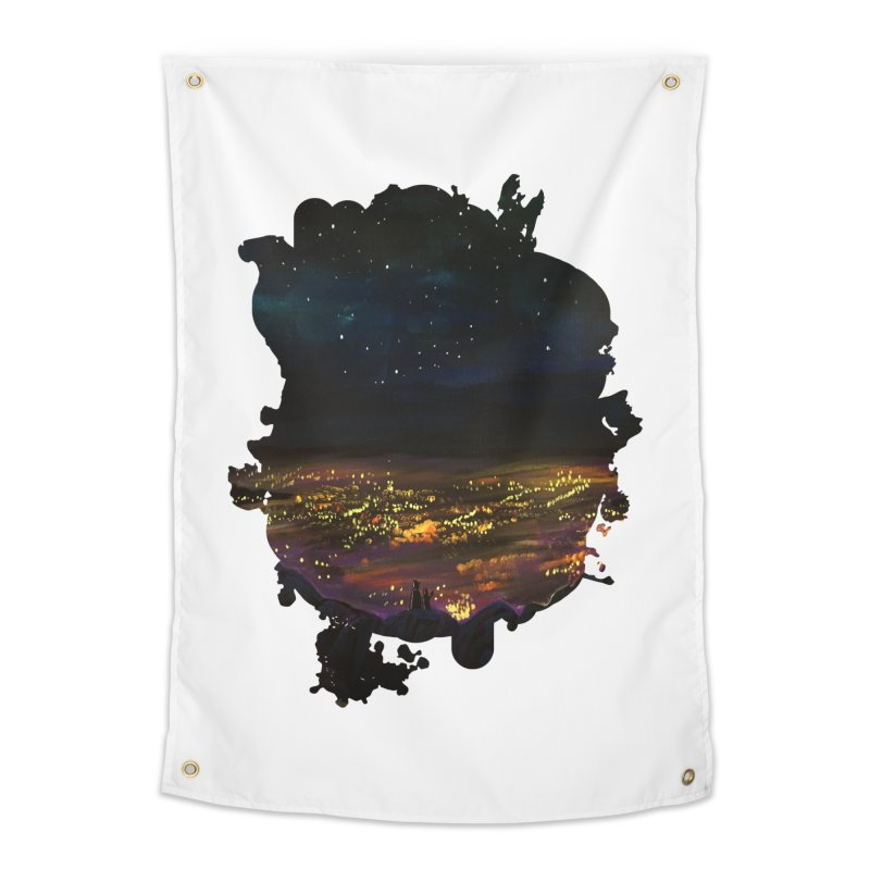 On The Edge Home Tapestry by adamzworld's Artist Shop
