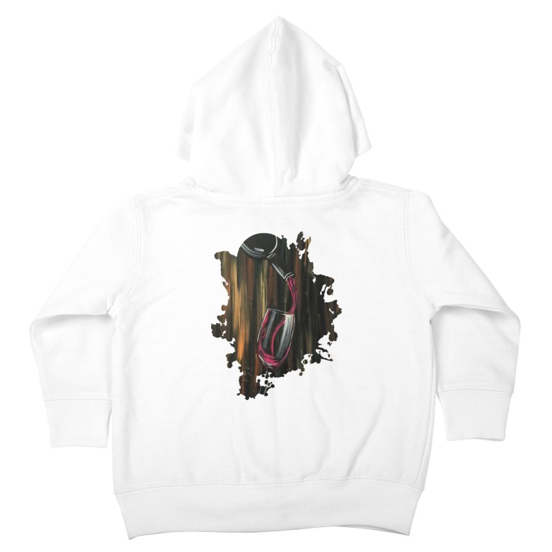 Fine Wine Kids Toddler Zip-Up Hoody by adamzworld's Artist Shop