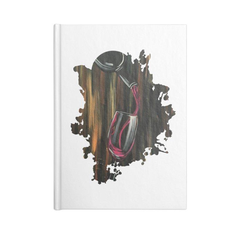 Fine Wine Accessories Notebook by adamzworld's Artist Shop