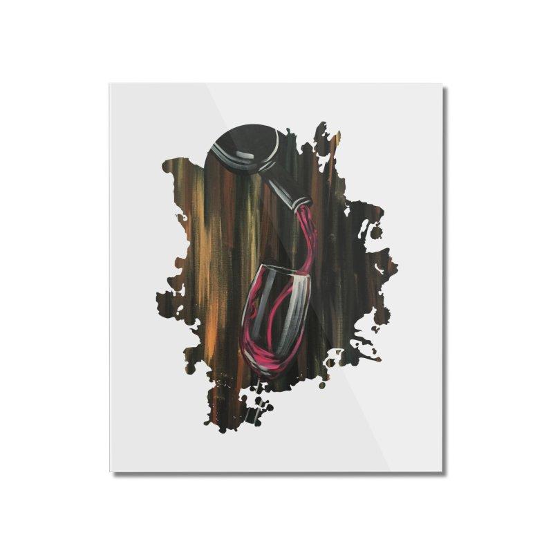 Fine Wine Home Mounted Acrylic Print by adamzworld's Artist Shop