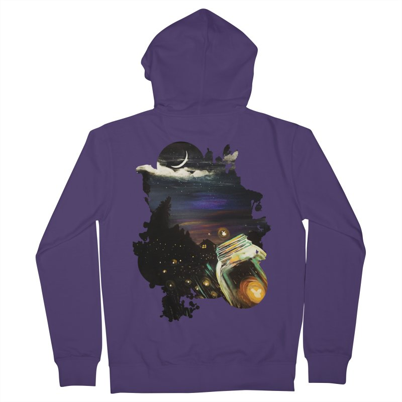 Firefly Sky Women's Zip-Up Hoody by adamzworld's Artist Shop