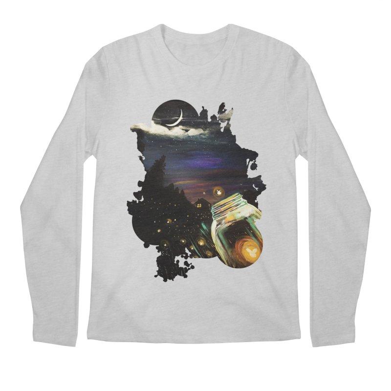 Firefly Sky Men's Longsleeve T-Shirt by adamzworld's Artist Shop