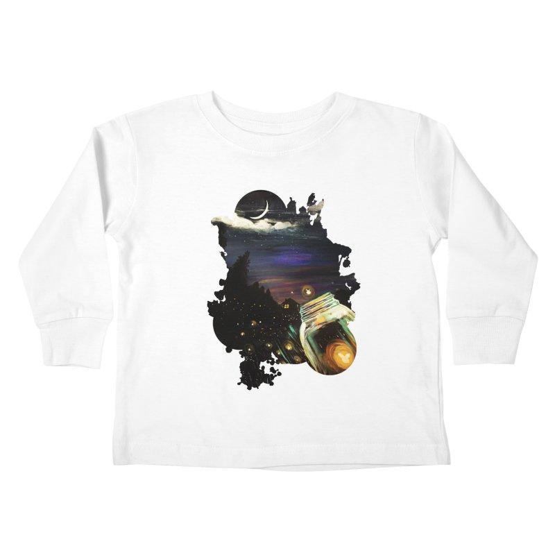 Firefly Sky Kids Toddler Longsleeve T-Shirt by adamzworld's Artist Shop