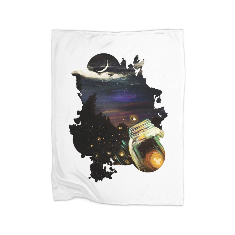 Firefly Sky Home Blanket by adamzworld's Artist Shop