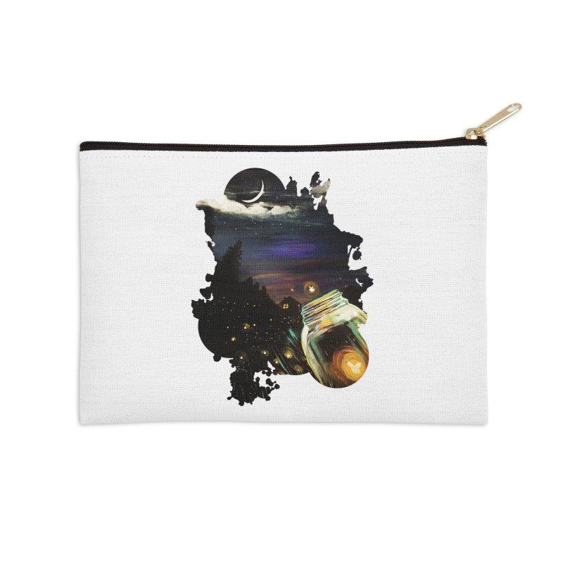 Firefly Sky Accessories Zip Pouch by adamzworld's Artist Shop