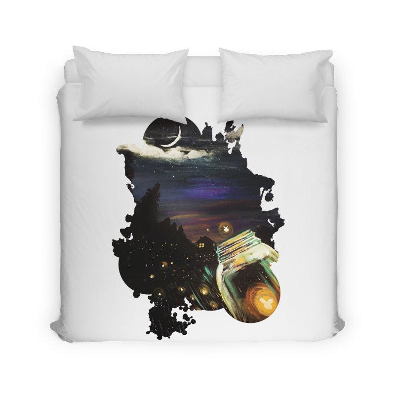 Firefly Sky Home Duvet by adamzworld's Artist Shop