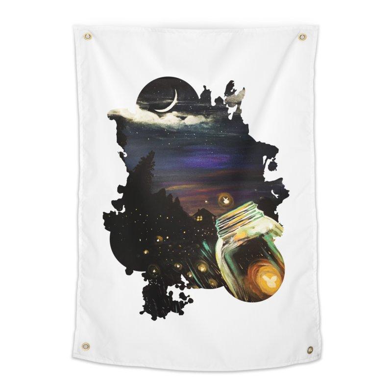 Firefly Sky Home Tapestry by adamzworld's Artist Shop