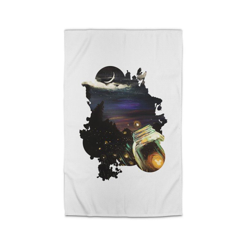 Firefly Sky Home Rug by adamzworld's Artist Shop