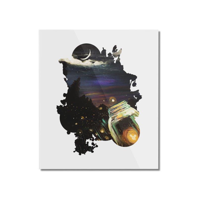 Firefly Sky Home Mounted Acrylic Print by adamzworld's Artist Shop