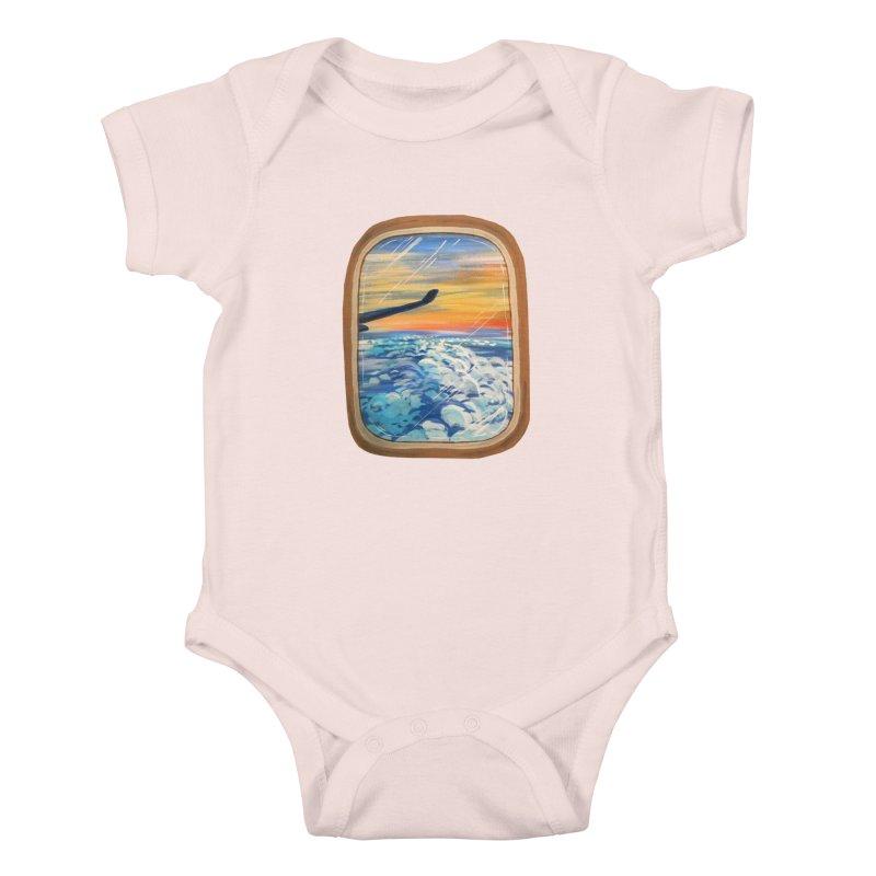 Above The Clouds Kids Baby Bodysuit by adamzworld's Artist Shop