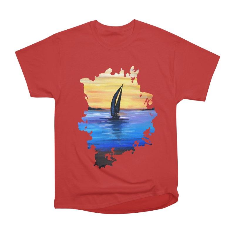 Sail Away Men's Classic T-Shirt by adamzworld's Artist Shop