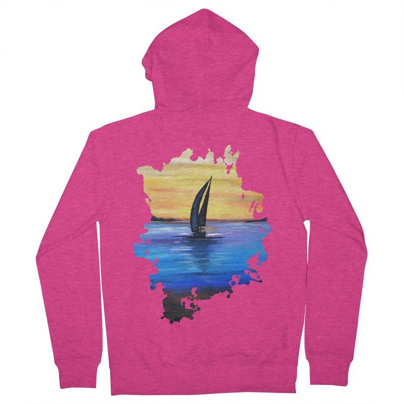 Sail Away Women's Zip-Up Hoody by adamzworld's Artist Shop
