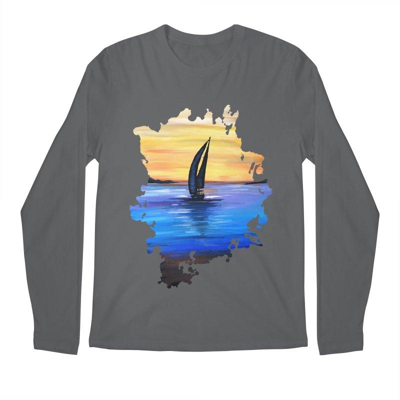 Sail Away Men's Longsleeve T-Shirt by adamzworld's Artist Shop