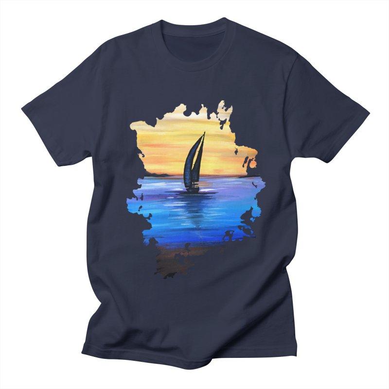 Sail Away Men's T-Shirt by adamzworld's Artist Shop