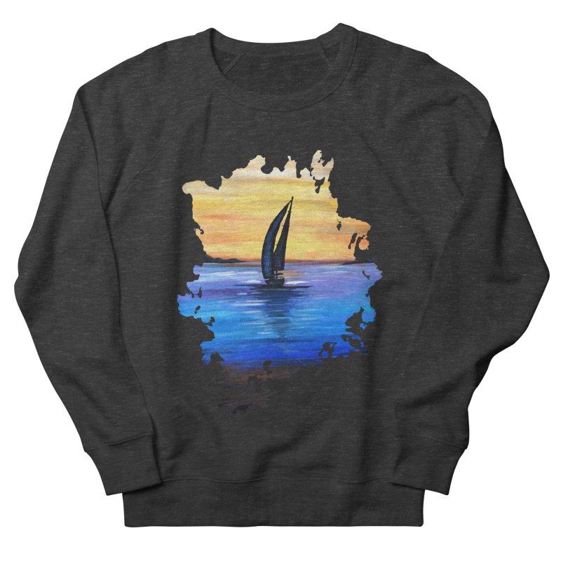 Sail Away Men's Sweatshirt by adamzworld's Artist Shop
