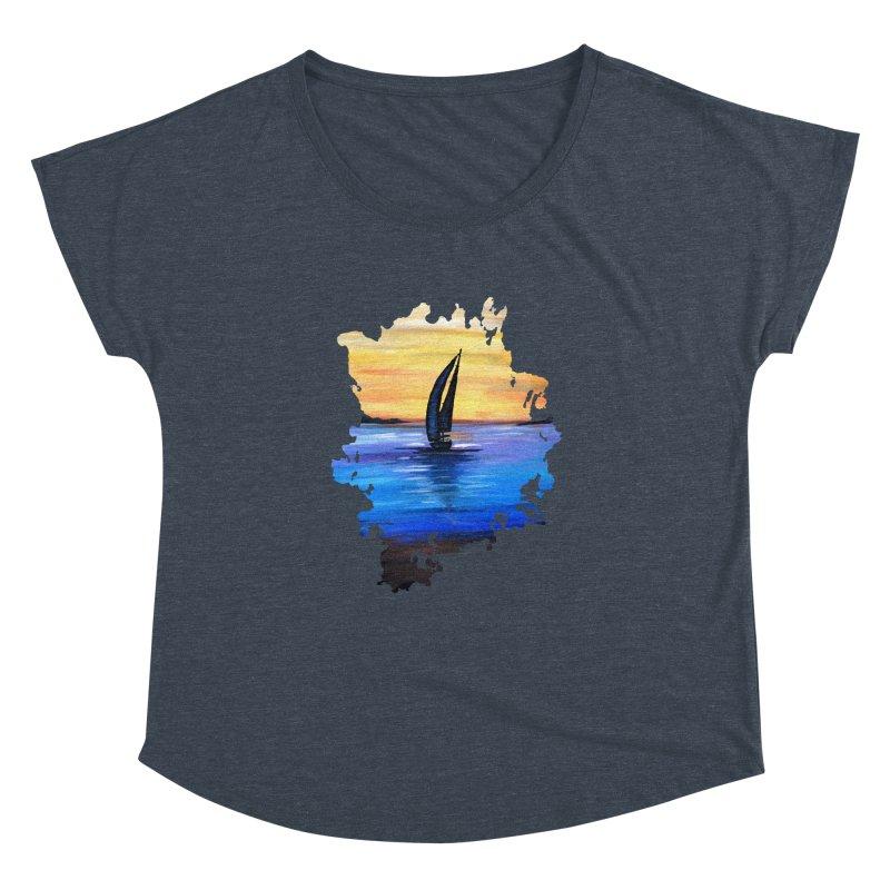 Sail Away Women's Dolman by adamzworld's Artist Shop