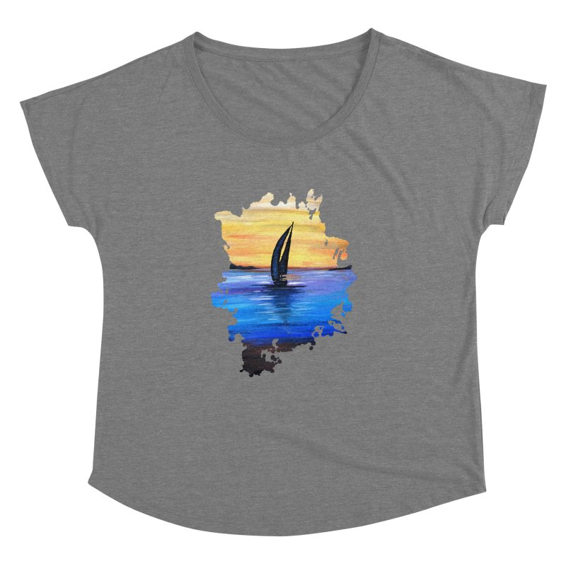 Sail Away Women's Dolman by adamzworld's Artist Shop