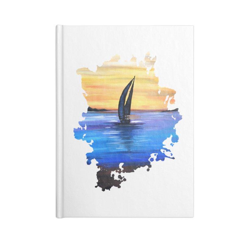 Sail Away Accessories Notebook by adamzworld's Artist Shop