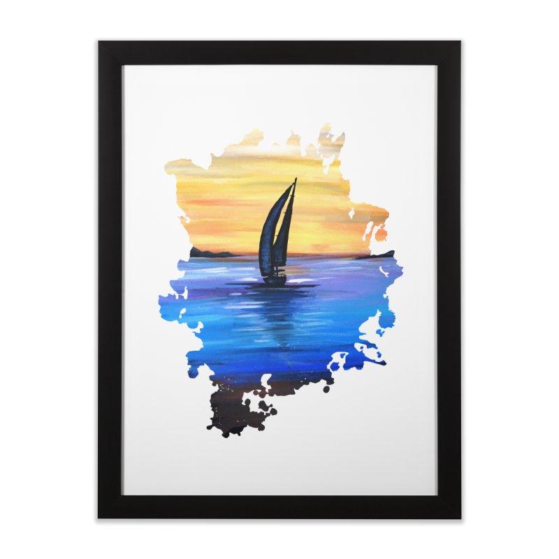 Sail Away Home Framed Fine Art Print by adamzworld's Artist Shop