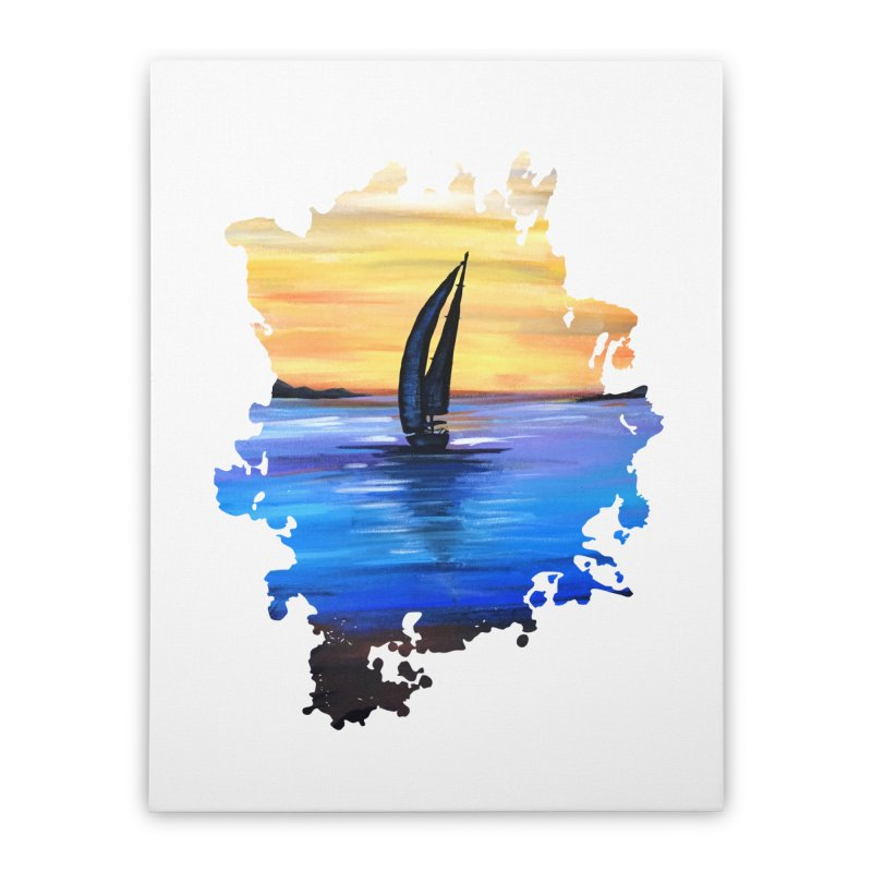 Sail Away Home Stretched Canvas by adamzworld's Artist Shop