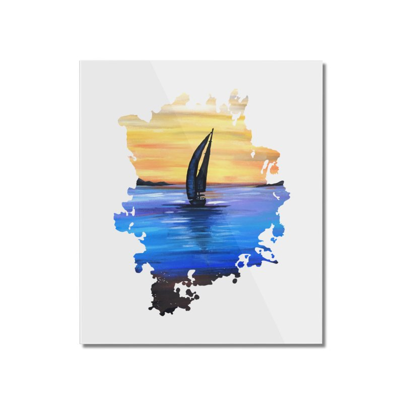 Sail Away Home Mounted Acrylic Print by adamzworld's Artist Shop