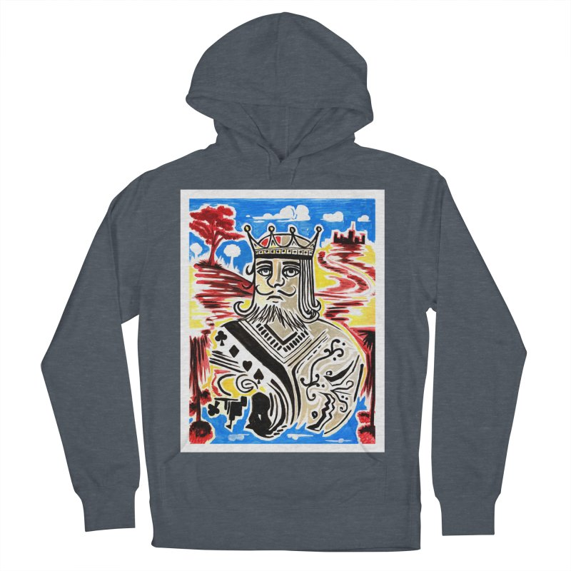 King Of Cards Men's Pullover Hoody by adamzworld's Artist Shop